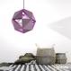Projet diy papercraft: plafonnier geo