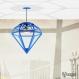 Projet diy papercraft: abat-jour diamant