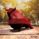 Projet diy papercraft: sculpture de taureau