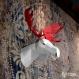 Projet diy papercraft: trophée de caribou