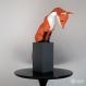 Projet diy papercraft: sculpture de renard