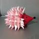 Projet diy papercraft: sculpture de hérisson