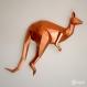 Projet diy papercraft: kangourou