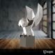 Projet diy papercraft: sculpture de chouette