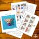 Projet diy papercraft: trophée chihuahua