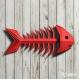 Projet diy papercraft: sculpture squelette de poisson