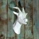 Projet diy papercraft: trophée de chèvre
