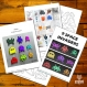 Projet diy papercraft: space invaders