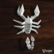 Projet diy papercraft: scorpion