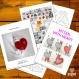 Projet diy papercraft: chat amoureux
