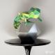 Projet diy papercraft: sculpture de caméléon