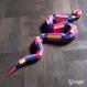 Projet diy papercraft: serpent