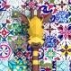 Projet diy papercraft: trophée de girafe amusante