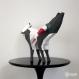 Projet diy papercraft: sculpture de ramy, le bélier amusant