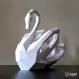 Projet diy papercraft: sculpture de cygne