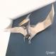 Projet diy papercraft : trophée de ptérosaure