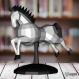 Projet diy papercraft : cheval de carrousel