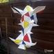 Projet diy papercraft: trophée de phacochère amusant