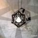 Projet diy papercraft: abat-jour prisma