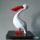 Projet diy papercraft : sculpture de pélicans