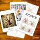 Projet diy papercraft: araignée