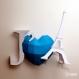 Projet diy papercraft: j´aime paris sculpture murale