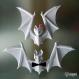 Projet diy papercraft: chauves-souris