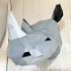 Kit papercraft rhino