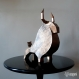 Projet diy papercraft: statue de taureau