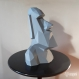 Projet diy papercraft: statue de moai