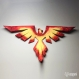 Projet diy papercraft: aigle / phoenix