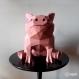 Projet diy papercraft: petit cochon