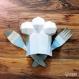 Projet diy papercraft: toque de chef