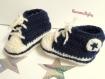 Baskets converse - chaussons pour bébés