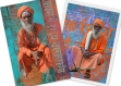 Lot de 2 cartes sadhus