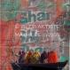 Shanti - toile 40 x 40 cm
