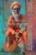 Sadhu safran - toile 40 x 60 cm