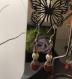 Boucle d'oreille pierre naturelle