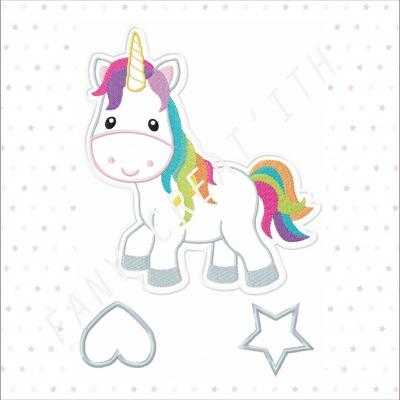 Ith tout dans le cadre porte barrettes licorne rainbow