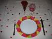 Très grande assiette de présentation (six colours)