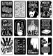 Pochette x12 stickers