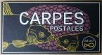 Cartes postales carpes x3
