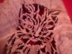 Dessous de plat ou décoration  chaton  en bois d'olivier  massif