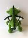 Dragon amigurumi au crochet fait à la main doudou crochet cadeau pour les enfants décoration chambre dragon vert peluche crochet