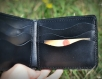 Personalized gift. a leather wallet that will make an impression