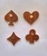 Magnets - pique coeur carreau trefle