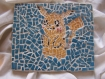 Pikachu pokemon en mosaique