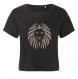 Brod'elys 3ai001 crop top femme lion