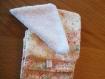 5 lingettes lavables démaquillantes ** ou pour bébés ** en liberty --handmade--
