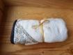 Cape de bain bébé en  liberty // sortie de bain bébé // cadeau de naissance fait-main